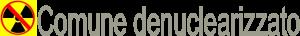 logo comune denuclearizzato
