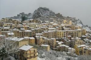 Nicosia sotto la neve