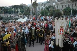 Corteo Storico nella citta di Messina